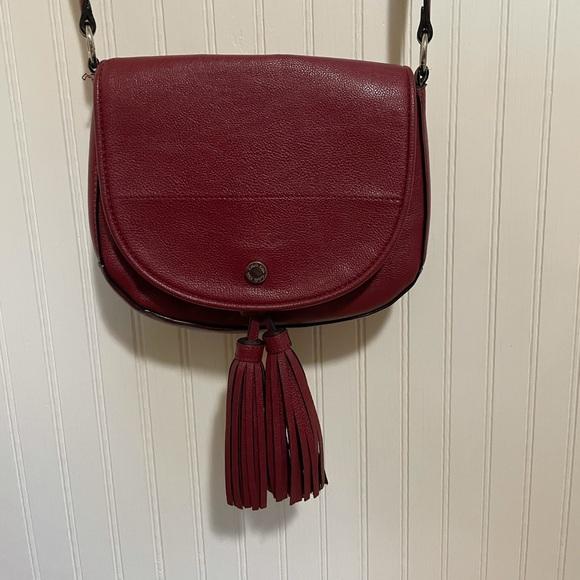 Calvin Klein red purse